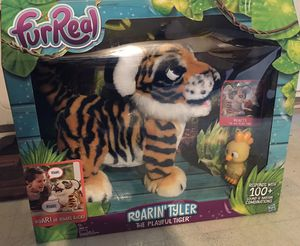 FurReal Friends - Roarin' Tyler, the Playful Tiger for Sale in Spartanburg, SC