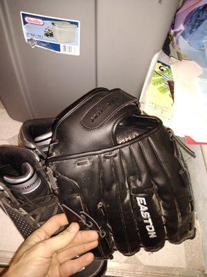 Baseball cleats glove for Sale in Dearborn, MI