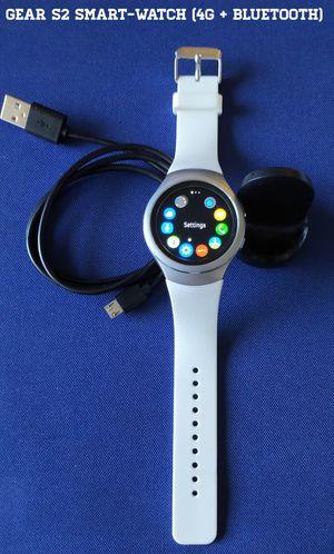 Samsung Gear S2 Smart-Watch (4G + Bluetooth) for Sale in Alexandria, VA