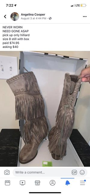 women's fringe boots for Sale in Hilliard, OH