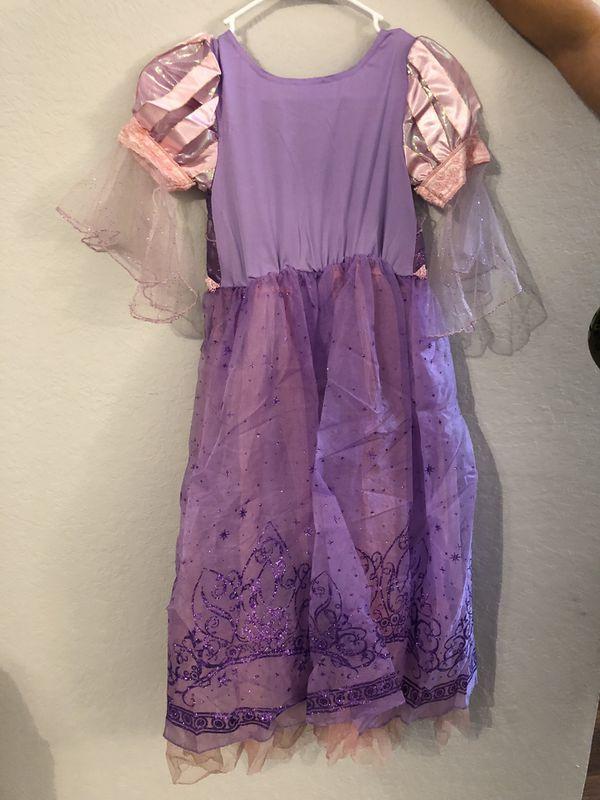 Disney rapunzel costume size 7-8