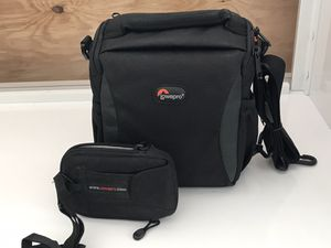 Lowerpro combo of DSLR & point and shot camera bags for Sale in Miami, FL