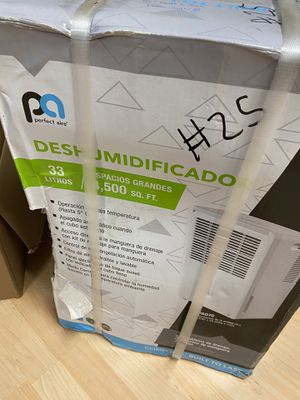 Perfect Air Dehumidifier - 70 Pints - Brand New for Sale for sale  Kennesaw, GA