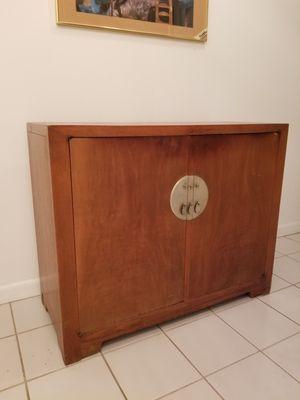 Large Antique silverware or liquor cabinet for Sale in North Miami Beach, FL