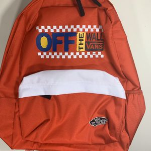 Vans OTW Bag Red New With Tags for Sale in Orlando, FL