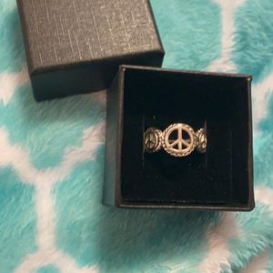 Sterling Silver Peace Ring for Sale in Fountain, CO