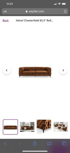 Brand New Velvet Couch for Sale in Washington, DC