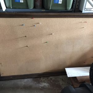 Large Cork board With Solid Wood Frame for Sale in Simi Valley, CA