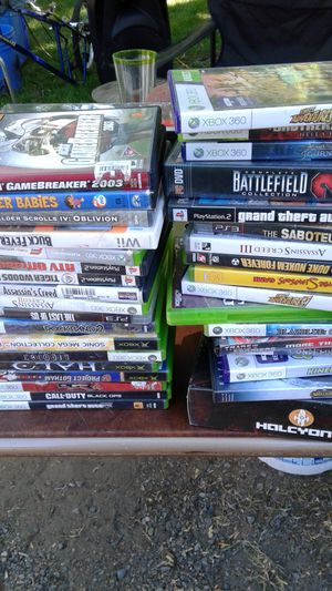 Video game Xbox 360 and PS2 games for Sale in Renton, WA