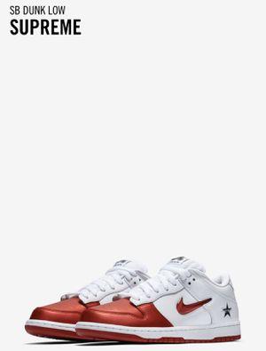 Supreme®/Nike® SB Dunk Low Size 13 for Sale in Arlington, VA