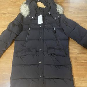 New Zara long Parka Jacket ( Men L size) with Tag for Sale in Houston, TX