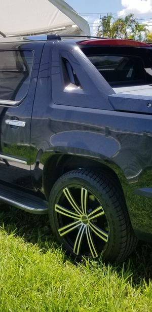 """22"""" Wheels Rims with brand new Good year tires. for Sale in Miami, FL"""