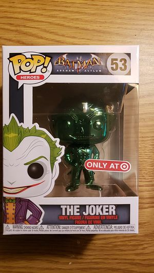 Funko Pop The Joker Green Chrome Exclusive for Sale in Dayton, OR