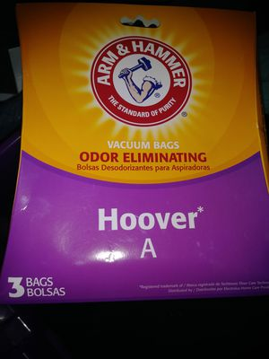 Hoover vacuum bags. for Sale in Kansas City, MO