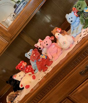 Beanie Babies sold by lot or individually. Original tags. for Sale in Canal Winchester, OH