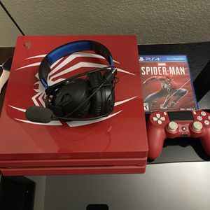 Spiderman Ps4 Pro 1tb for Sale in Fontana, CA