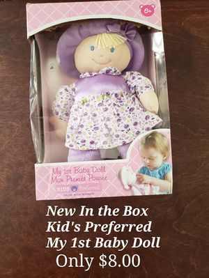 Brand New in the Box Kids Preferred My 1st Baby Doll for Sale in Buford, GA
