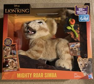 Fur Real The Lion King Simba $50 for Sale in Murrieta, CA