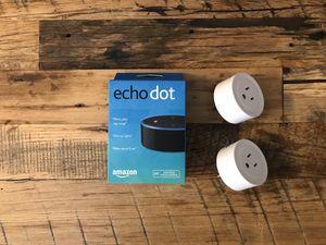 Amazon Echo & 2 Smart Plugs for Sale in Los Angeles, CA