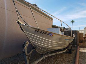 Aluminum fishing boat for Sale in Glendale, AZ