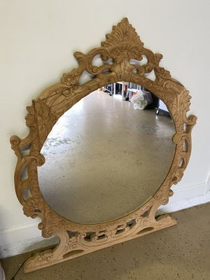 Beautiful wall mirror - unfinished for Sale in Orlando, FL