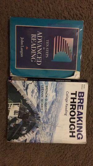Two college reading books for Sale in San Antonio, TX