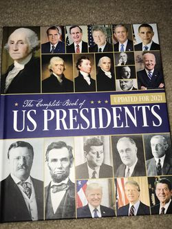 2021 The Complete Book Of US Presidents for Sale in Alexandria,  VA