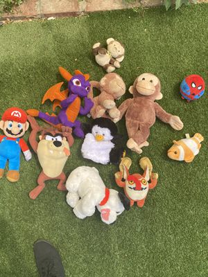 Plushies Mario for Sale in Los Angeles, CA