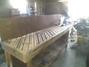 Heavy duty shop work bench for Sale in Grifton, NC
