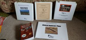 Inspector manuals for taking the test books blenders brand new for Sale in Canby, OR