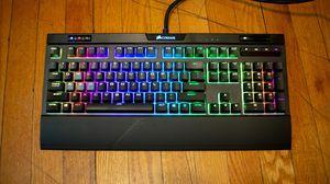 Corsair mk.2 strafe RGB mechanical keyboard for Sale in Wenatchee, WA