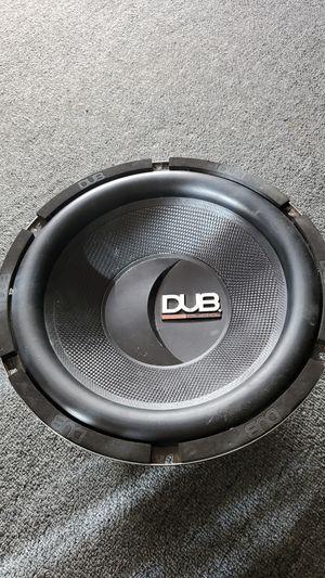 "12"" DUB speaker for Sale in Los Angeles, CA"
