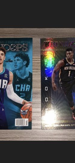 Lamelo Ball RS-2 Rookie Card Zion Williamson 151 Rookie Card for Sale in Easton,  MA