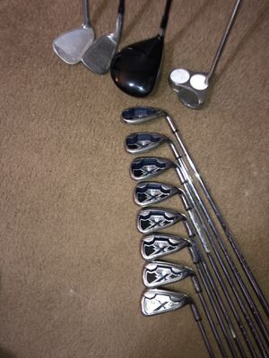 Set of Callaway X 20s with a Cleveland Launcher 360 driver and putter for Sale in Monroe, LA