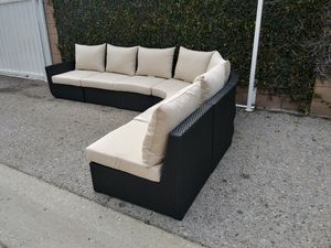 Outdoor patio sectional couch for Sale in Los Angeles, CA