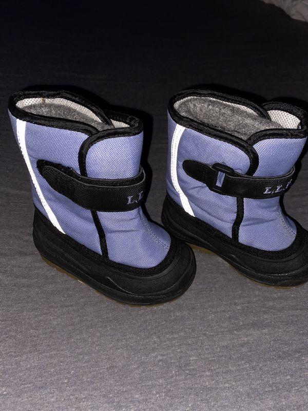 L.L Bean Kids Snow Boots 6T