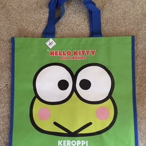 SANRIO HELLO KITTY AND FRIENDS KEROPPI TOTE BAG • NEW WITH TAG! for Sale in Santa Ana, CA