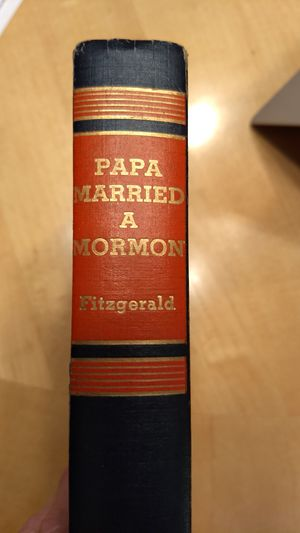 Papa married a Mormon hardcover book 1955 1st edition ? fitzgerald for Sale in Chicago, IL