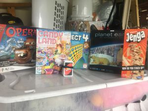 Games (few pieces missing) Pick up today for Sale in Miramar, FL