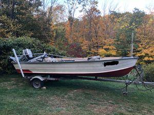 1986 16ft Starcraft Marine Aluminum Bass Boat for Sale in Torrington, CT