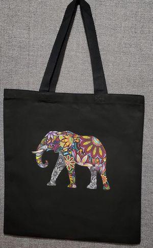 🐘 Elephant shopping bag, beachbag, bookbag. for Sale in North Miami Beach, FL