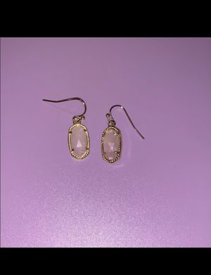 Kendra Scott Gold and Pink Earrings for Sale in Abilene, TX