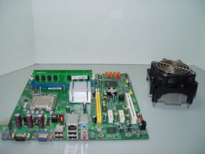 Lenovo G31T-LM2/G31T-LM Motherboard DUAL-CORE 2.4GHZ CPU 4GB RAM for Sale in Anaheim, CA