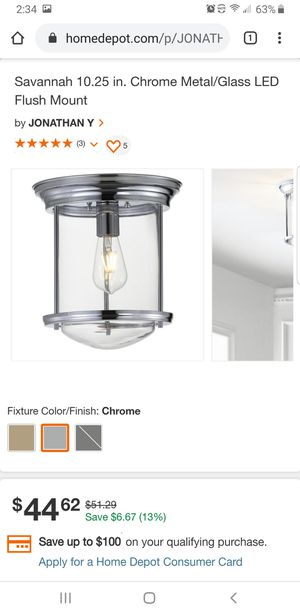 Brand new light fixture for Sale in Columbus, OH