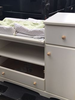 Baby Changing Table And Storage Cabinet for Sale in Vancouver,  WA