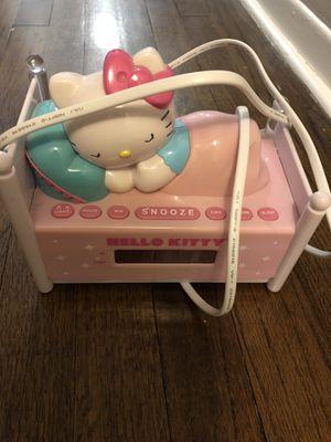 Girls clock- Hello Kitty for Sale in West Orange, NJ
