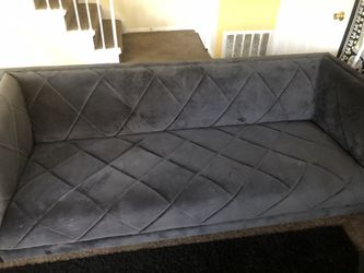 Black cushions couch for Sale in Columbus,  OH
