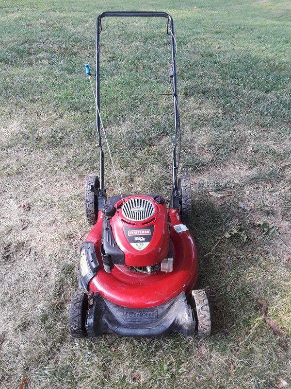 lawn mower craftsman 6.75 gold esta buena serios compradores