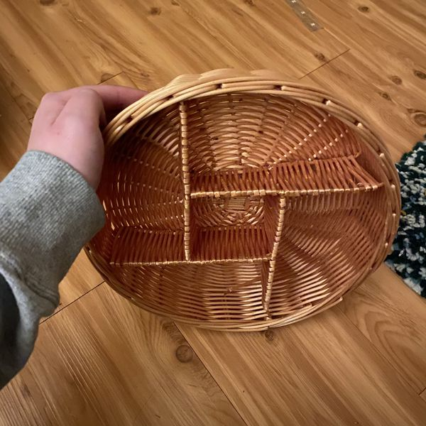 Wall Basket with Shelves