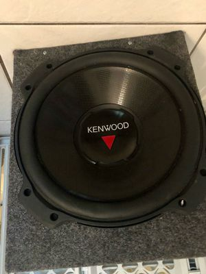 "PAIR OF KENWOOD 12"" DOUBLE SIDED 80HM 800W PERFORMANCE SUBWOOFER for Sale in Miami, FL"